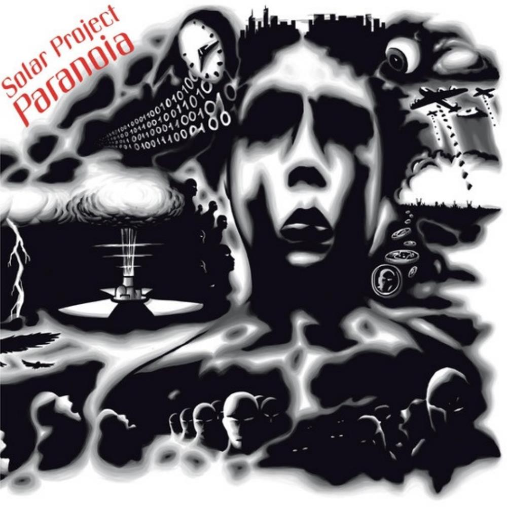 Solar Project - Paranoia CD (album) cover