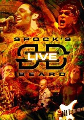 SPOCK'S BEARD - Spock's Beard Live CD (album) cover