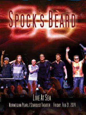 Spock's Beard - Live At Sea DVD (album) cover