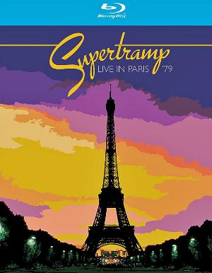 Supertramp Live In Paris 1979 CD album cover