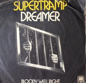 SUPERTRAMP - Dreamer / Bloody Well Right CD album cover