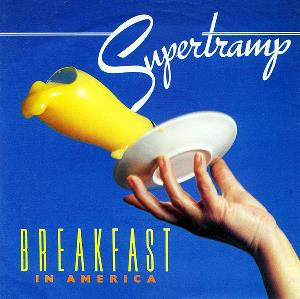 SUPERTRAMP - Breakfast In America / Gone Hollywood CD album cover