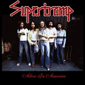 Supertramp - Alive In America CD (album) cover
