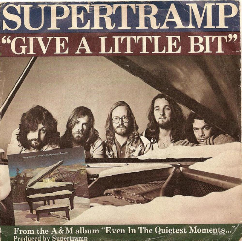 Supertramp - Give A Little Bit CD (album) cover