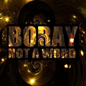 BORAY - Not A Word CD album cover