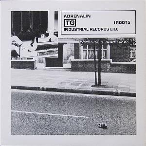 Throbbing Gristle - Adrenalin/distant Dreams (part Two) CD (album) cover