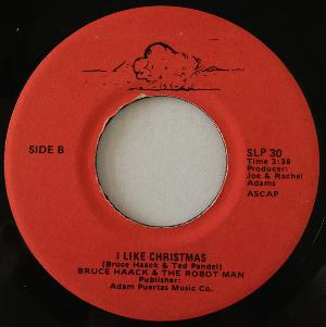 Bruce Haack - Zoot Zoot Zoot Here Comes Santa In His New Space Suit / I Like Christmas (with Tiny Tim) CD (album) cover