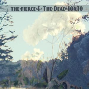 The Fierce & The Dead - 10x10 CD (album) cover
