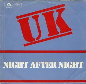 U.k. - Night After Night CD (album) cover