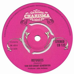 Van Der Graaf Generator - Refugees / Boat Of A Million Years CD (album) cover