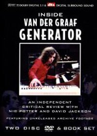 Van Der Graaf Generator - Inside Van Der Graaf Generator : An Independant Critical Review CD (album) cover