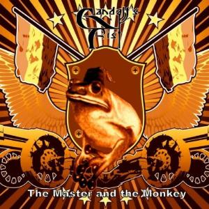 Gandalf's Fist - The Master And The Monkey CD (album) cover
