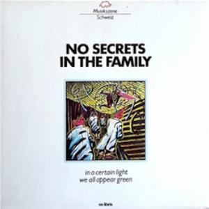 No Secrets In The Family - In A Certain Light We All Appear Green CD (album) cover