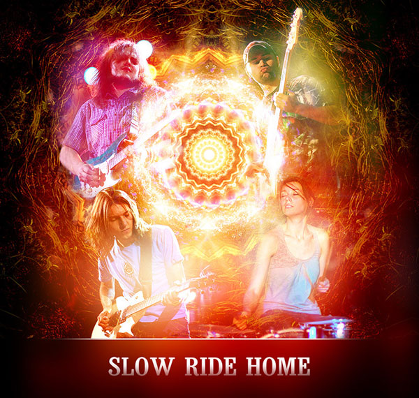 SLOW RIDE HOME image groupe band picture