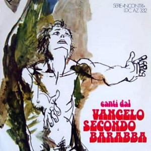 Barabba - Canti Del Vangelo Secondo Barabba CD (album) cover