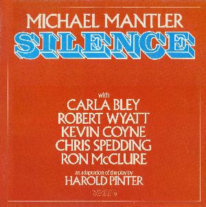 Michael Mantler - Silence CD (album) cover