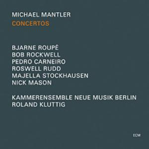 Michael Mantler - Concertos CD (album) cover