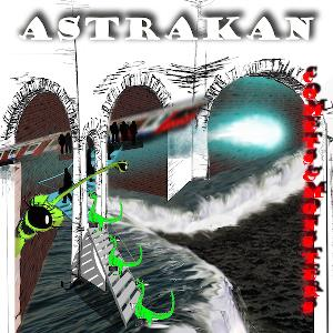 Astrakan - Comets And Monsters CD (album) cover