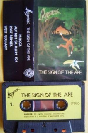Megace - The Sign Of The Ape CD (album) cover