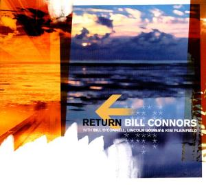 Bill Connors - Return CD (album) cover