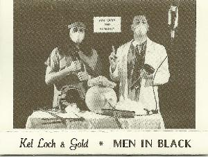 Kel Loch & Gold - Men In Black CD (album) cover