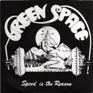 Green Space - Speed Is The Reason CD (album) cover