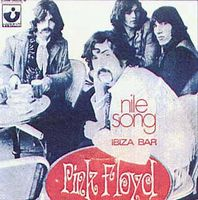 PINK FLOYD - The Nile Song CD album cover