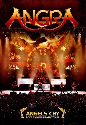 Angra Angels Cry: 20th Anniversary Tour CD album cover