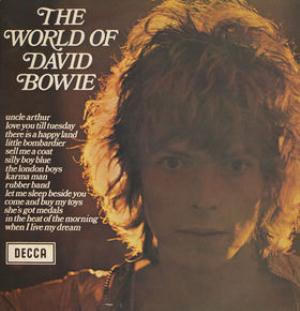 David Bowie - The World Of David Bowie CD (album) cover