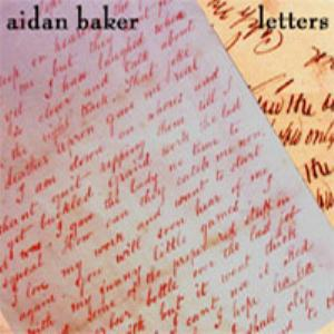 Aidan Baker - Letters CD (album) cover