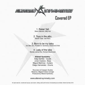 Altered Symmetry - Covered Ep CD (album) cover