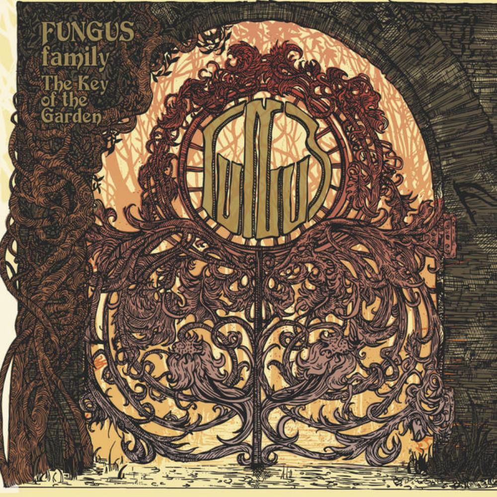 FUNGUS - The Key Of The Garden CD album cover