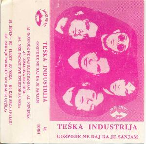 Teska Industrija - Gospode Ne Daj Da Je Sanjam CD (album) cover