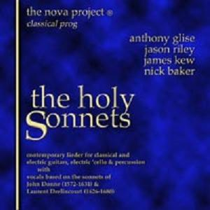 The Nova Project - The Holy Sonnets CD (album) cover