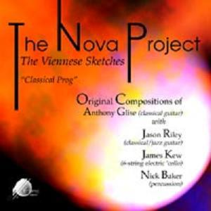 The Nova Project - The Viennese Sketches CD (album) cover