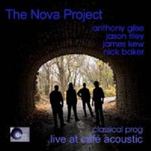 The Nova Project - Live At The Café Acoustic CD (album) cover