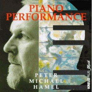 Peter Michael Hamel - Piano Performance CD (album) cover