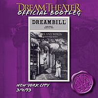 Dream Theater - New York City 3/4/93 CD (album) cover