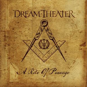 Dream Theater - A Rite Of Passage CD (album) cover
