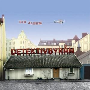 Detektivbryan - E18 Album CD (album) cover