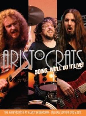 The Aristocrats - Boing, We'll Do It Live! DVD (album) cover