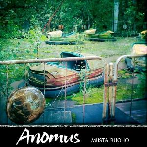 Anomus - Musta Ruoho CD (album) cover