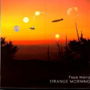 Pepe Maina - Strange Morning CD (album) cover