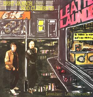 BERT JANSCH - Leather Launderette (w/ Rod Clements) CD album cover