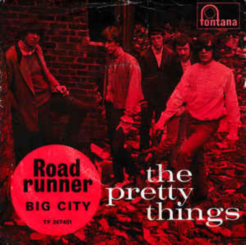 THE PRETTY THINGS - Road Runner CD album cover