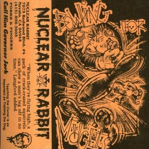 Nuclear Rabbit - Bowling For Midgets (demo) CD (album) cover