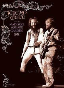 Jethro Tull - Live At Madison Square Garden 1978 (dvd + Cd) DVD (album) cover