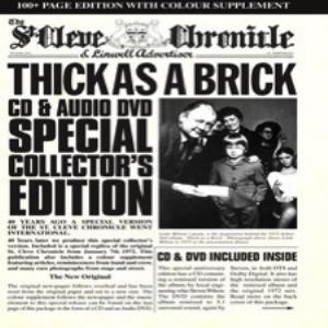 Jethro Tull - Thick As A Brick - 40th Anniversary Special Edition CD (album) cover