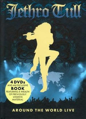 Jethro Tull - Around The World Live (4dvd) DVD (album) cover