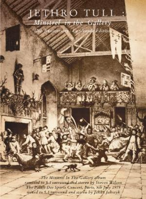 Jethro Tull - Minstrel In The Gallery - 40th Anniversary: La Grande Edition CD (album) cover